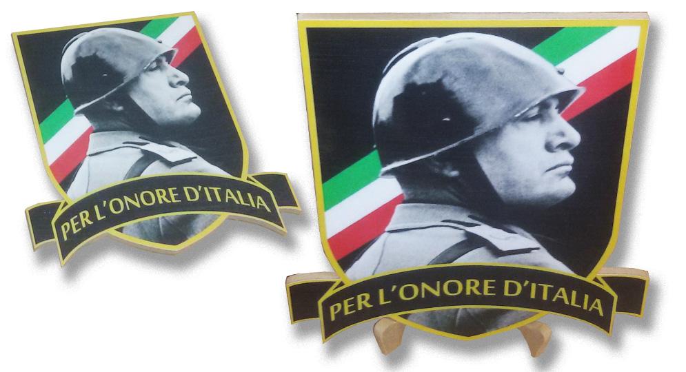 SCUDO DUCE PER L'ONORE D'ITALIA Extras
