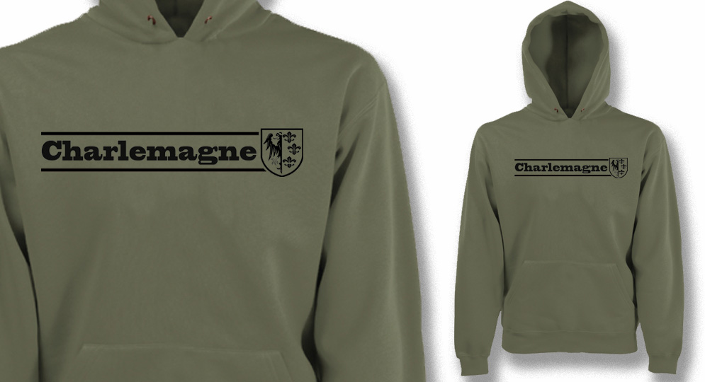CHARLEMAGNE OLIVE Sweaters & Hoodies