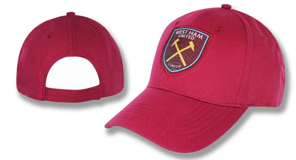 CAP WEST HAM Bordeaux Caps