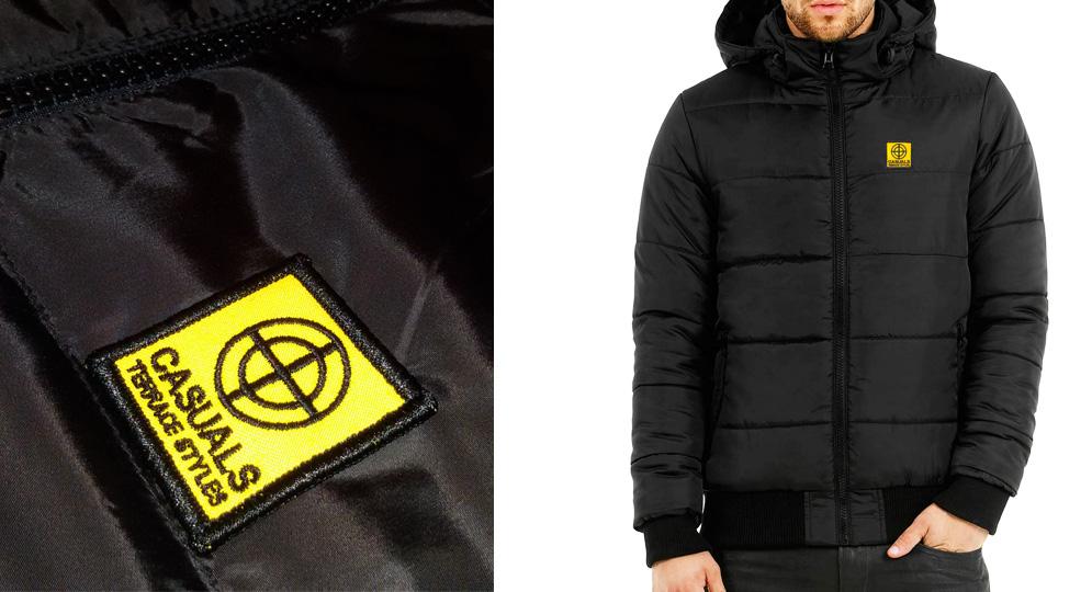 BOMBER CON CAPPUCCIO CASUALS Jackets
