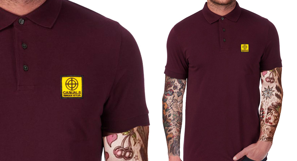 POLO CASUALS CENTER BORDEAUX Polos Pullovers Shirts