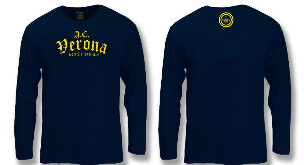 MAGLIA MANICA LUNGA A.C.VERONA Polos Pullovers Shirts
