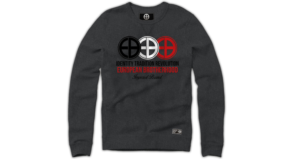SWEAT IDENTITY TRADITION REVOLUTION GREY European Brotherhood