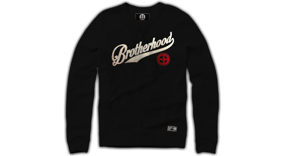 SWEAT BROTHERHOOD BLACK European Brotherhood