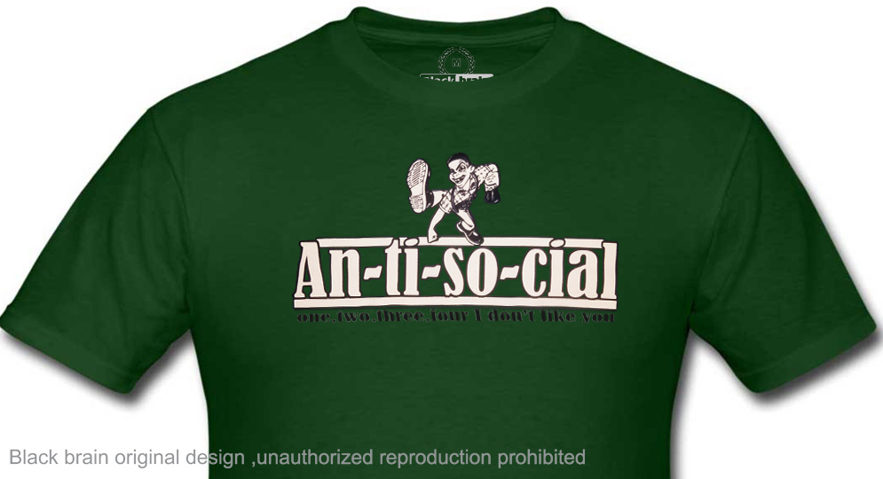 ANTISOCIAL T-shirts