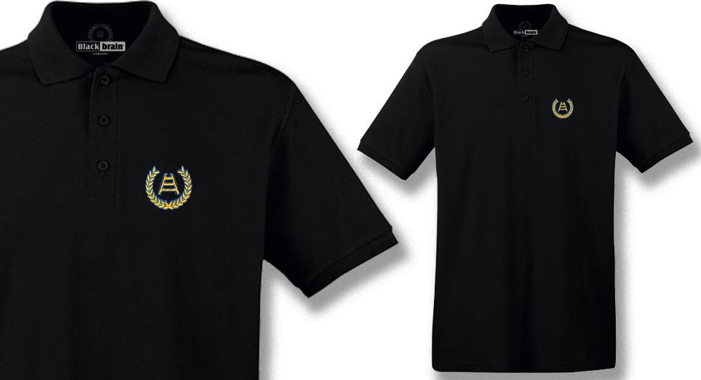 POLO ALLORO SCALA BLACK Polos Pullovers Shirts