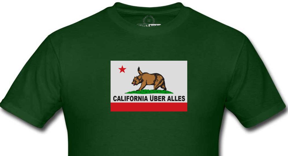 CALIFORNIA UBER HALLES T-shirts