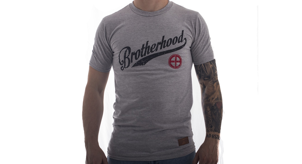 T-SHIRT BROTHERHOOD GREY European Brotherhood