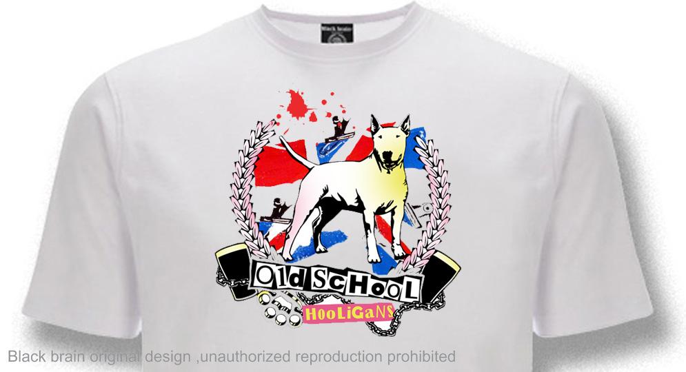 HOOLIGANS OLD SCHOOL T-shirts