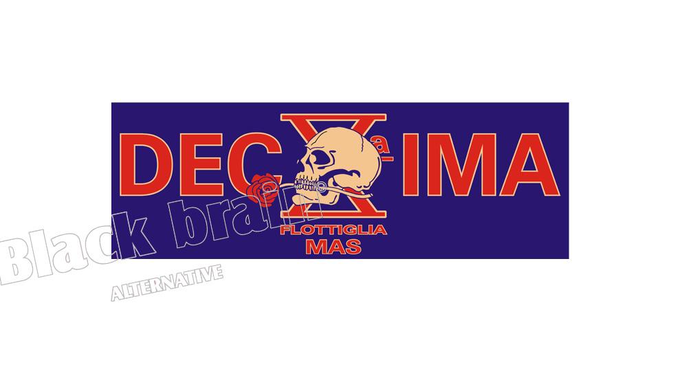 ADESIVO DECIMA MAS Pins & Stickers