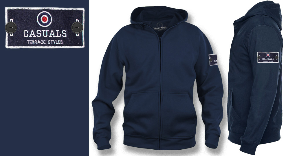 HOODY ZIP LABEL CASUALS TARGET Sweaters & Hoodies