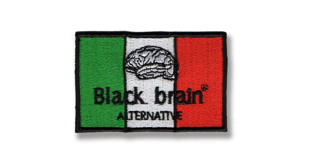 BLACK BRAIN ITALIA Patches