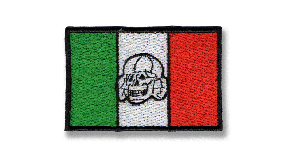 ITALIA TOTENKOPF Patches