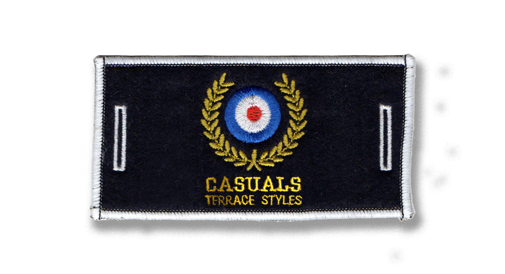CASUALS CROWN LABEL Patches