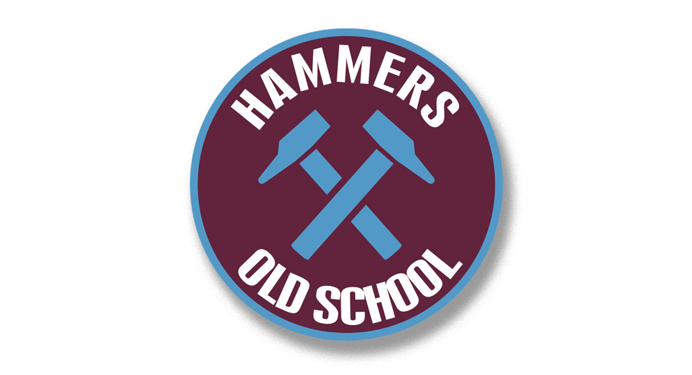 HAMMERS OLD SCHOOL Pins & Stickers