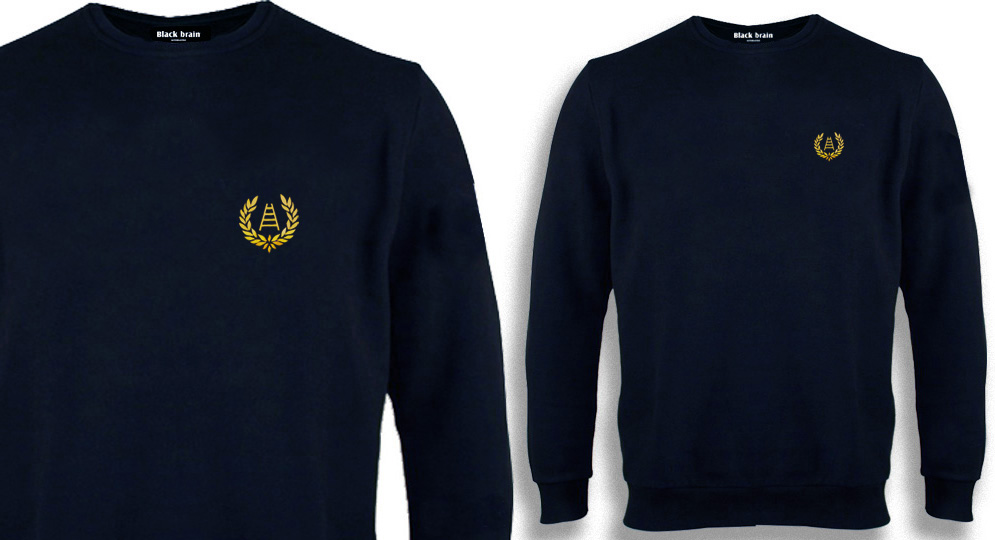 SWEAT VERONA ALLORO SCALA BLU Sweaters & Hoodies