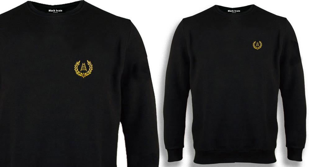 SWEAT VERONA ALLORO SCALA NERO Sweaters & Hoodies