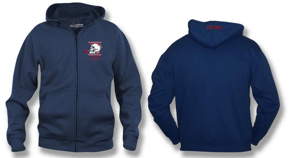 HOODY DECIMA MAS FULL ZIP Sweaters & Hoodies