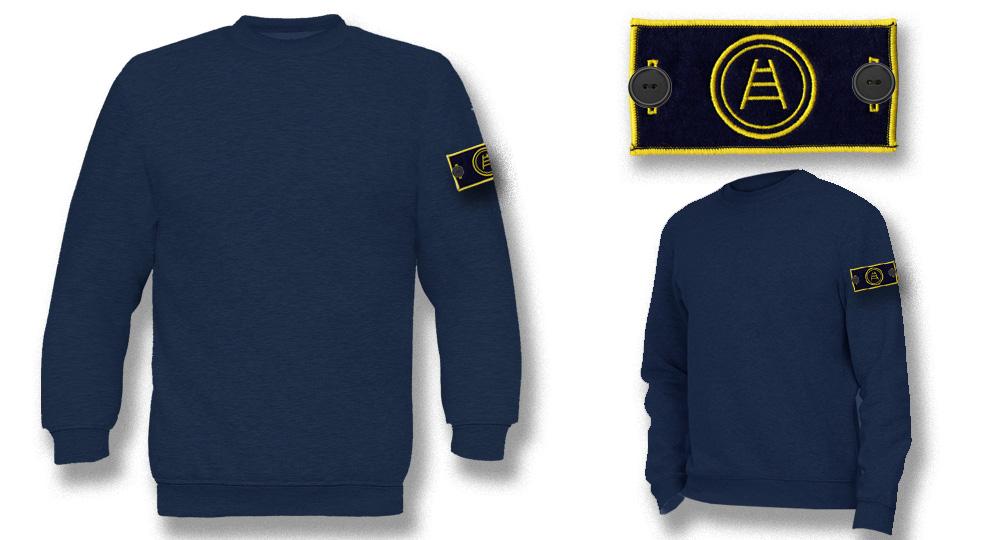 SWEAT LABEL CERCHIO SCALA Sweaters & Hoodies