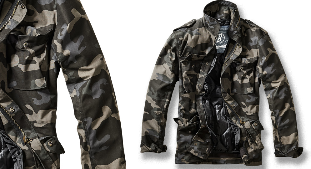 FIELD JACKET BLACK CAMO Jackets