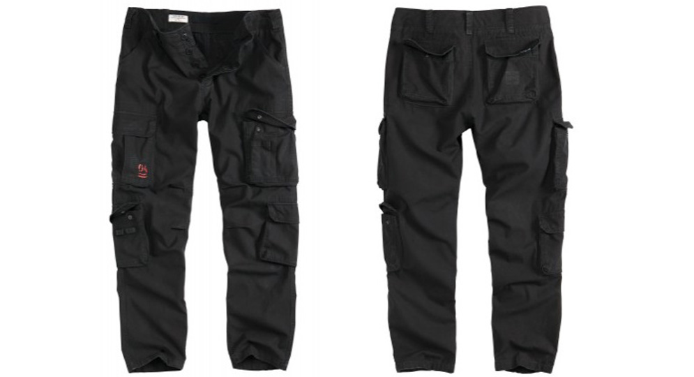 TROUSERS SLIMMY BLACK Shorts & trousers