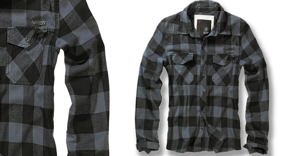SHIRT CHECK BLACK Polos & Pullovers