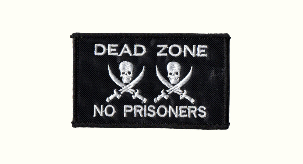 DEAD ZONE NO PRISONERS Patches