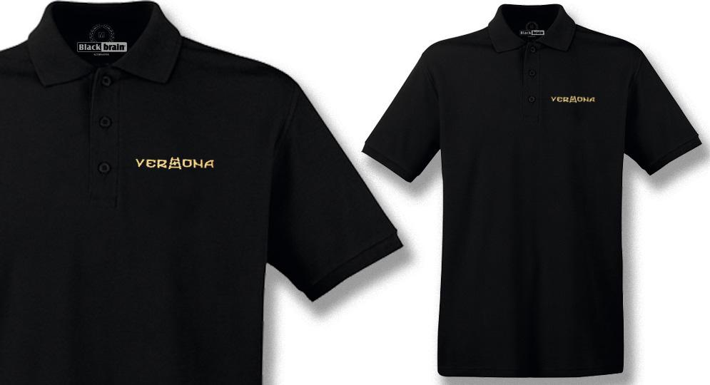 POLO VERONA NERA SCALA RUNA Polos Pullovers Shirts