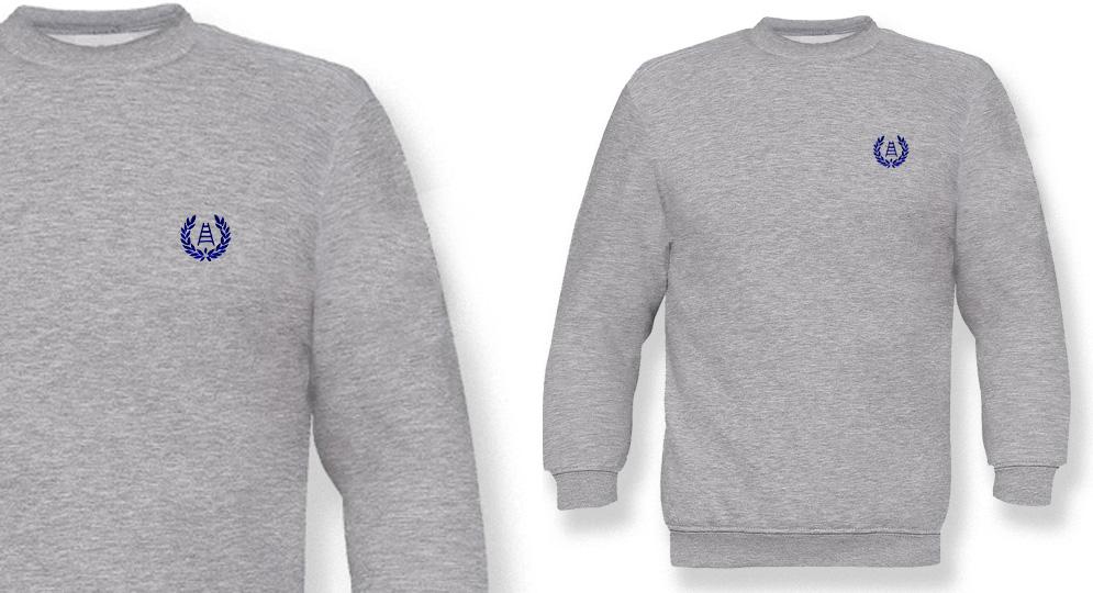 SWEAT VERONA ALLORO SCALA GREY Sweaters & Hoodies