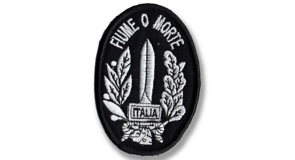 PATCH GLADIO FIUME O MORTE Patches
