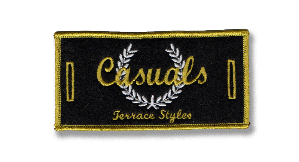 PATCH CASUALS ELEGANT LABEL FOR BUTTONS Patches