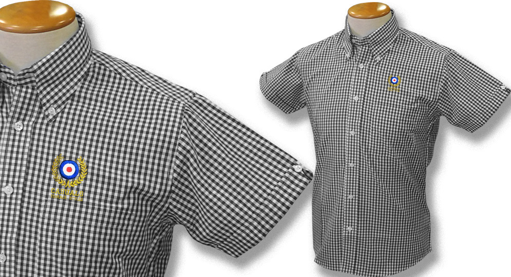 GINGHAM SHIRT CASUALS ALLORO Polos Pullovers Shirts