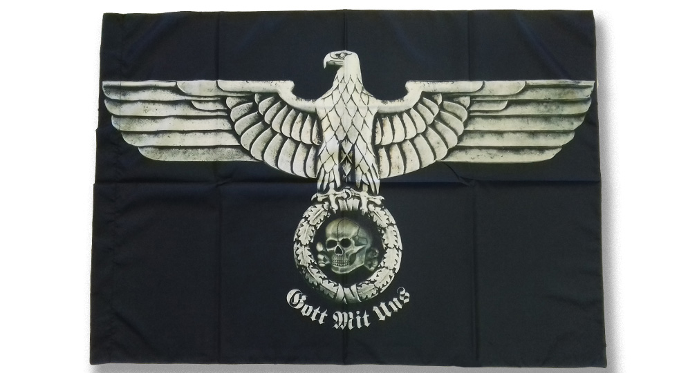 EAGLE GOTT MIT UNS Flags