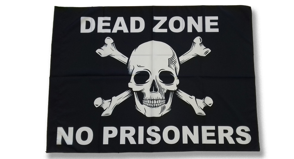 DEAD ZONE NO PRISONERS Flags