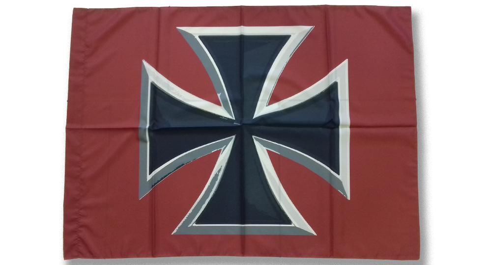 FLAG IRON CROSS