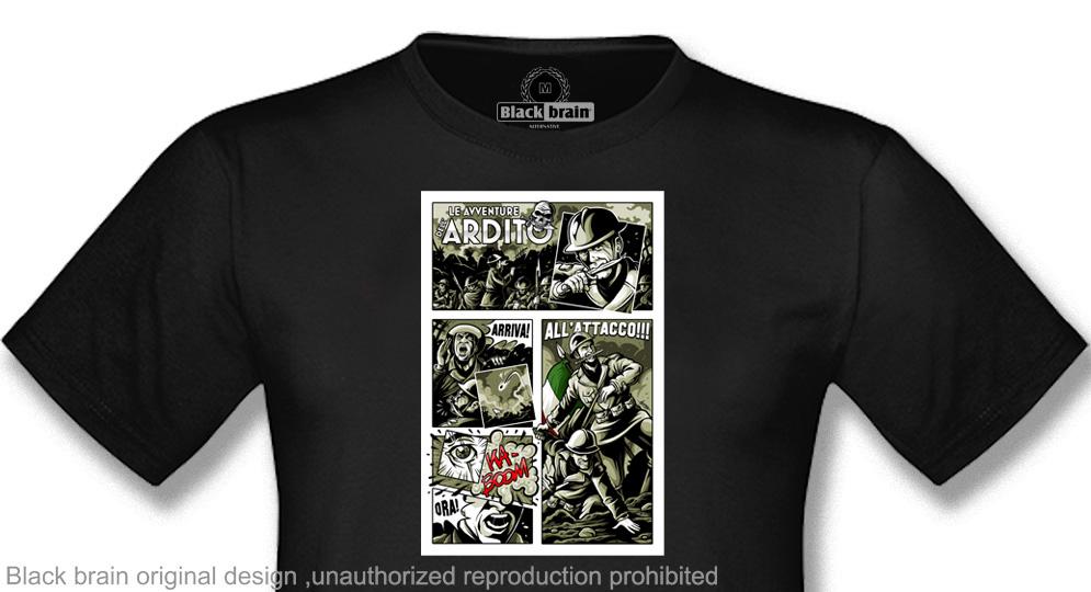 T-SHIRT LE AVVENTURE DELL'ARDITO T-shirts
