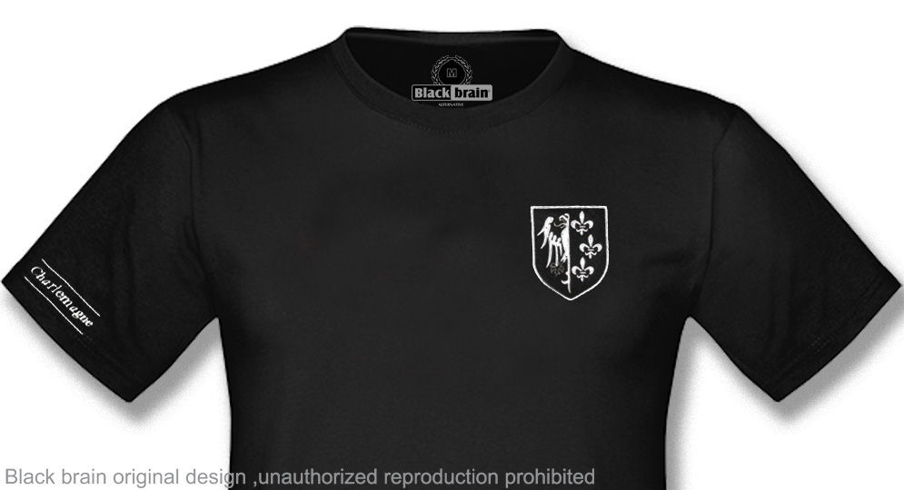 T-SHIRT CHARLEMAGNE SHIELD T-shirts