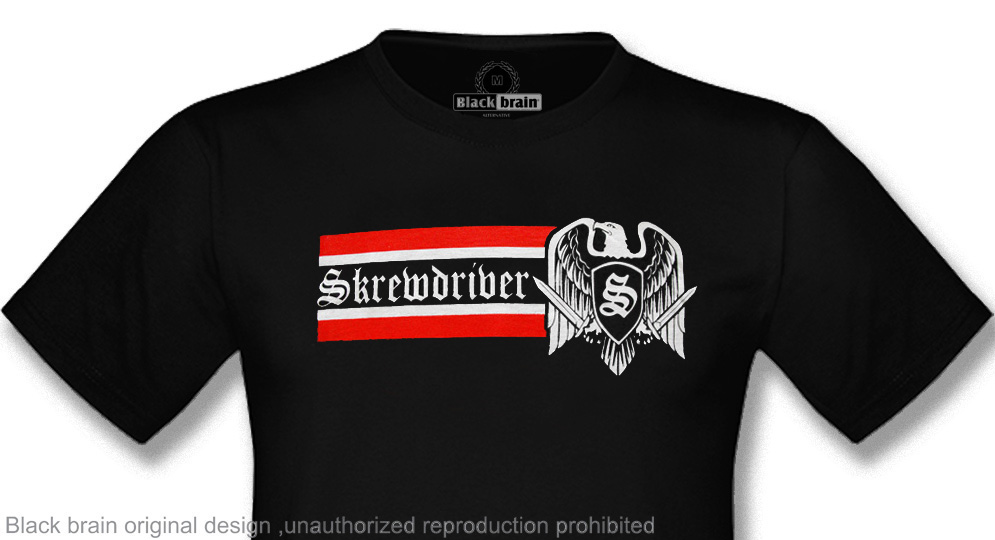 T-SHIRT SKREWDRIVER Honor & Loyalty T-shirts