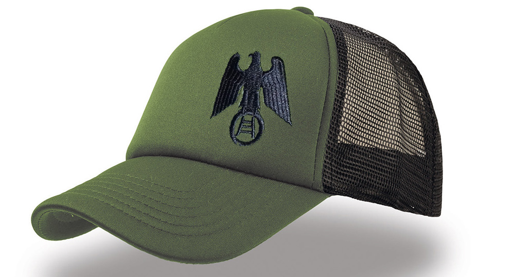 CAP TRUCKER AQUILA VERONA SCALA OLIVA Caps