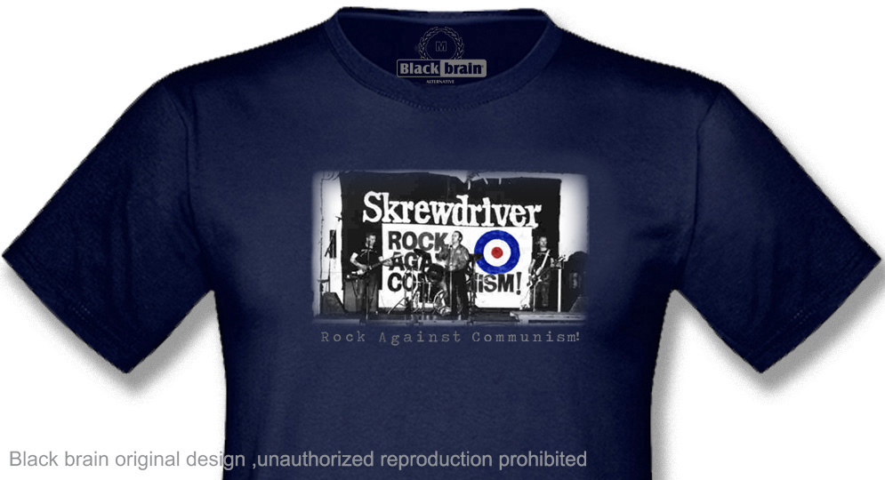 SkREWDRIVER R.A.C. T-shirts