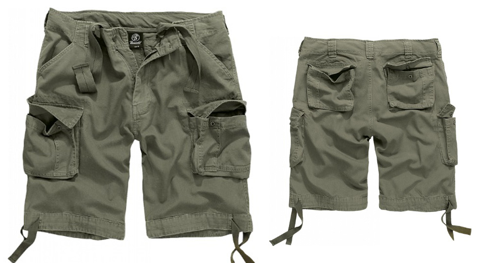 BERMUDA URBAN LEGEND OLIVE Shorts & trousers