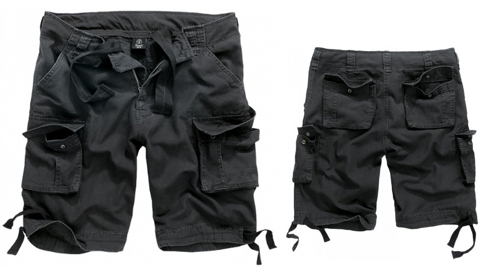 BERMUDA URBAN LEGEND BLACK Shorts & trousers