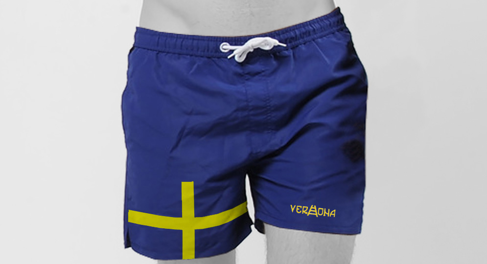SWIMMING SHORTS VERONA CROCE SCALA Shorts & trousers