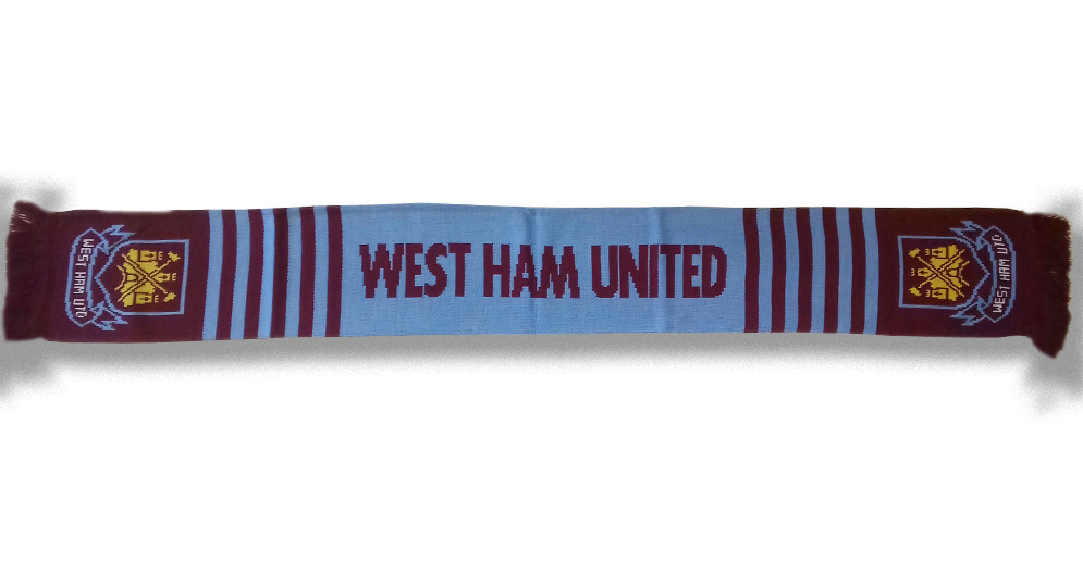 WEST HAM Scarves