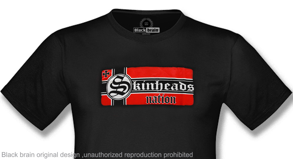 T-SHIRT SKINHEADS NATION T-shirts