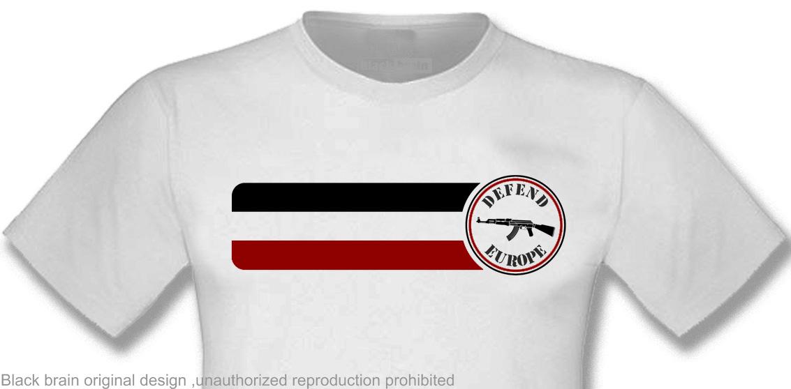 T-SHIRT DEFEND EUROPE WHITE T-shirts