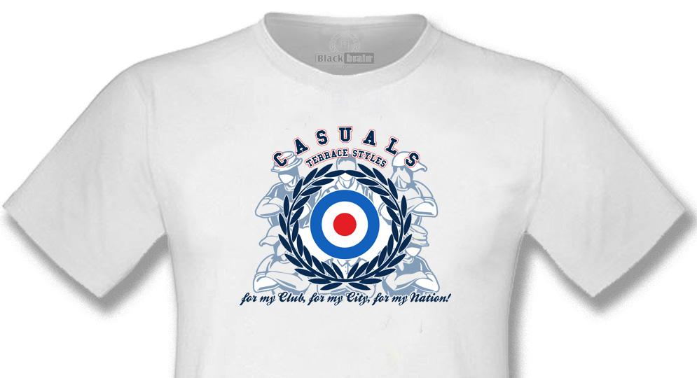 T-SHIRT CASUALS WHITE ALLORO TARGET T-shirts