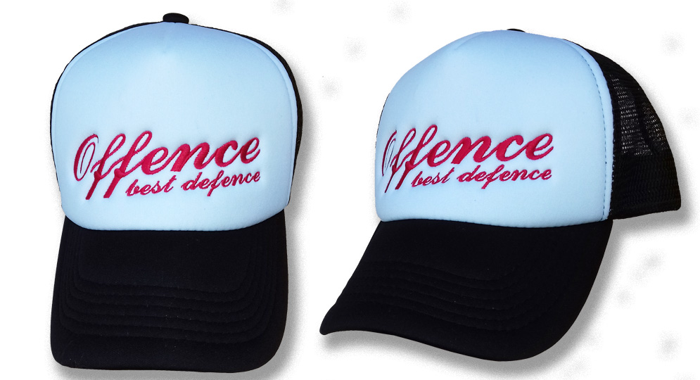TRUCKER CAP OFFENCE BEST DEFENCE