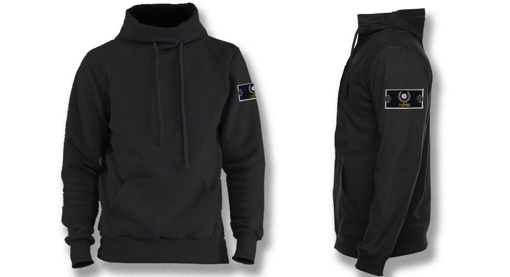 SWEAT HIGH NECK BLACK LABEL Sweaters & Hoodies