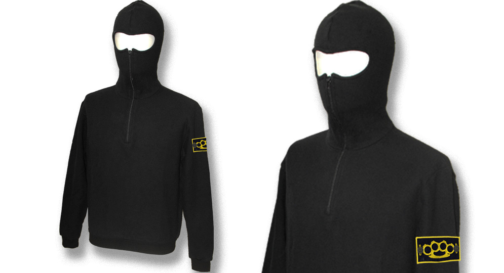 HOODY NINJIA SWEAT BLACK LABEL